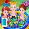 بازی آنلاین فلش بچه داری هیزل کوچولو در مهد کودک - دخترانه