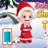 بازی آنلاین فلش بچه داری هیزل کوچولو و کریسمس - دخترانه