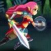 بازی آنلاین فلش شمشیر زنی دختر رعد آسا