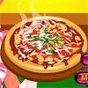 بازی آنلاین فلش مدیریتی فروشگاه پیتزای من - دخترانه