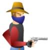 بازی آنلاین فلش دوئل تفنگ خونین - غرب وحشی