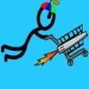 بازی آنلاین فلش قهرمان سبد فروشگاه سواری 3