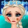 بازی آنلاین فلش دکتری جراحی السا فروزن - دکتری دخترانه