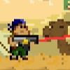 بازی آنلاین فلش تفنگدار بیابان - تیراندازی