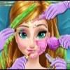 بازی آنلاین فلش آرایشگری آنا فروزن در کلینیک آرایش