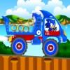 بازی آنلاین فلش سونیک کامیون سواری