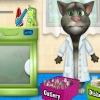 بازی آنلاین فلش بازی شستن ظرف گربه سخنگو