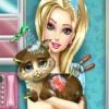 بازی آنلاین فلش مراقبت از حیوانات خانگی گربه