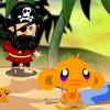 بازی آنلاین معمایی شاد کردن میمون و اژدها فلش