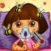 بازی آنلاین فلش بازی آنلاین دورا پزشکی زنبور گزیدگی دخترانه فلش