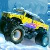 بازی کامیون سواری در فصل زمستان