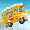 بازی پارک اتوبوس مدرسه من در زمستان