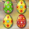 بازی همرنگ ها تخم مرغ های رنگی آب پز