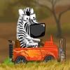 بازی آنلاین فکری گورخر و سفر به آفریقا 2