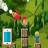 بازی آنلاین فلش تخریب روستا با موشک - اکشن