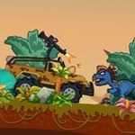 بازی آنلاین فلش کامیون سواری در عصر دایناسورها - ورزشی