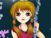 بازی آنلاین مدل لباس دختر رمانتیک - دخترانه فلش