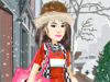 بازی آنلاین فلش ست لباس خرید در زمستان - دخترانه