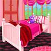 بازی آنلاین فلش دکوراسیون اتاق خواب صورتی من - دخترانه
