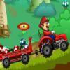 بازی آنلاین فلش ماریو : تراکتور سواری در مزرعه قارچ - ورزشی