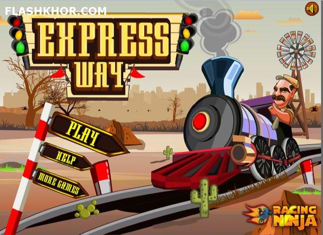 بازی آنلاین مدیریت چهار راه ریل قطار - ادونچر فلش