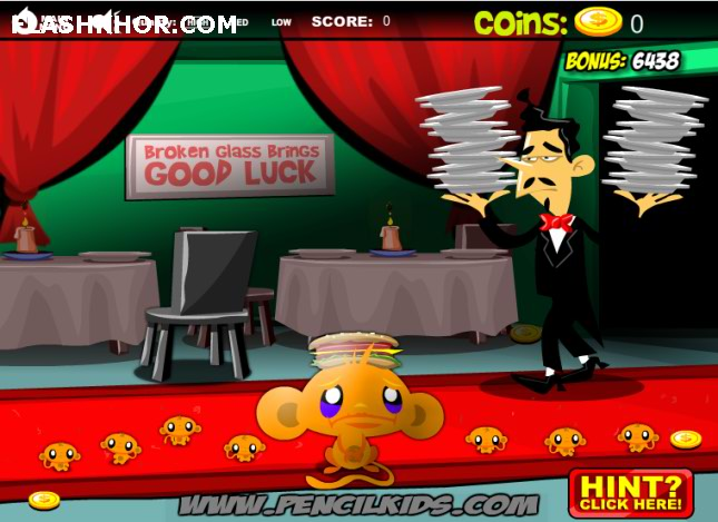 بازی آنلاین شاد کردن میمون ماراتون 4 - ادونچر فکری فلش