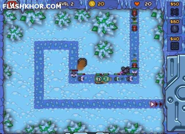 بازی آنلاین دفاع از برج محافظ جهان 2 - استراتژیک فلش