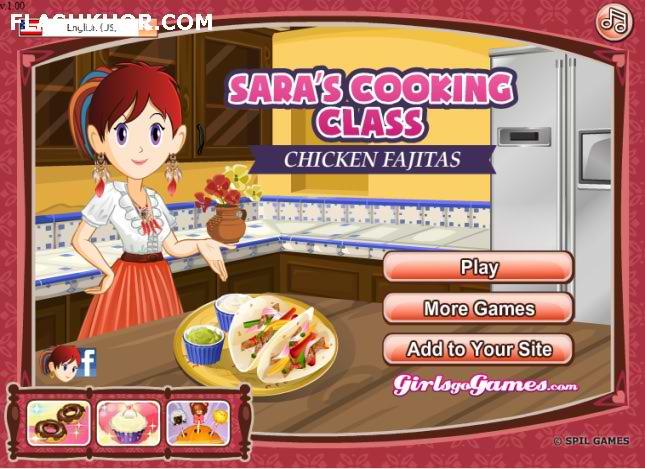 بازی آنلاین آشپزی خوراک مرغ فجیتز - دخترانه فلش