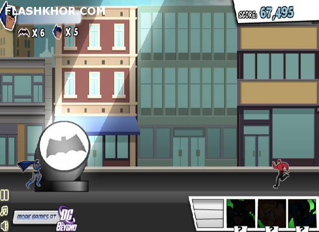 بازی آنلاین بتمن در شهر گاتهام batman ghotham city فلش