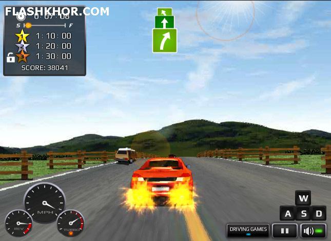 بازی آنلاین ماشین سواری مسابقات پر حرارت در آمریکا - ورزشی فلش