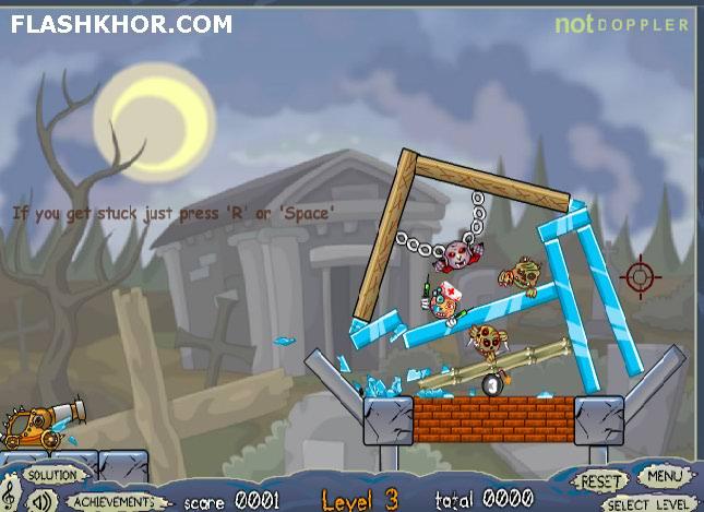بازی آنلاین توپ انفجاری رلی پلی 2 - فکری فیزیک فلش