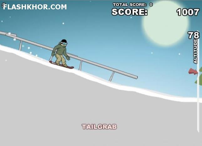 بازی آنلاین نهایت اسنوبرد - ورزشی فلش