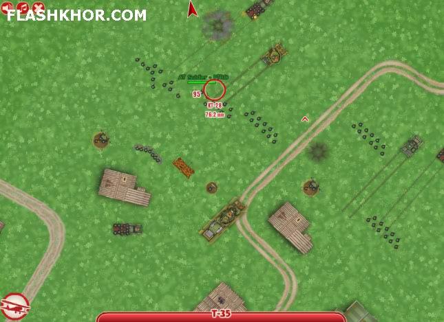 بازی آنلاین جنگ بی پایان 6 فلش