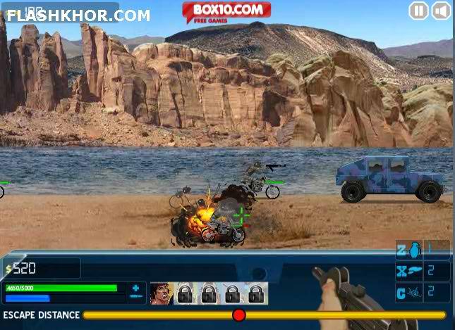بازی آنلاین بزرگراه مرگبار 3 - اکشن فلش