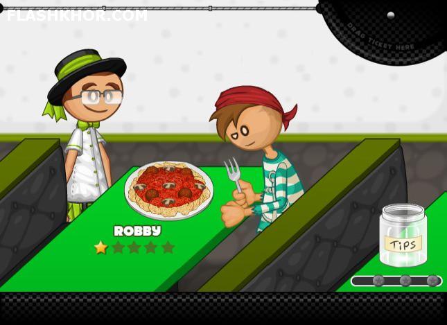 بازی آنلاین رستوران داری پاستریا پاپا - دخترانه فلش