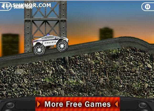 بازی آنلاین ماشین سواری قاتل کامیون ها 2 - ورزشی فلش