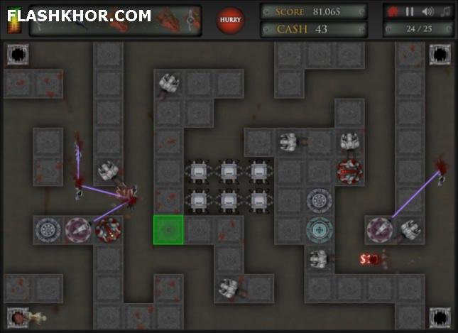 بازی آنلاین دفاع از برج ماموریت سی 13- استراتژیک فلش