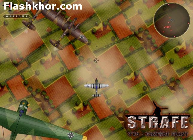 بازی آنلاین هواپیمایی جنگ هواپیماها در جنگ جهانی دوم - اکشن فلش