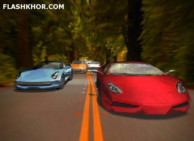 بازی آنلاین ماشین سواری مسابقه با ماشین فوق العاده فلش