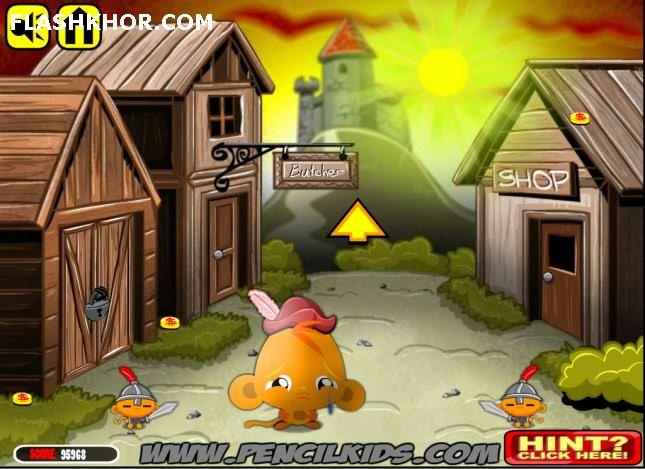 بازی آنلاین شاد کردن میمون : ماجراجویی فلش