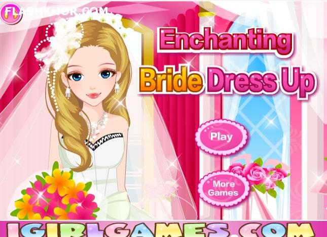 بازی آنلاین مدل لباس عروس و ست لباس عروس زیبا - دخترانه فلش