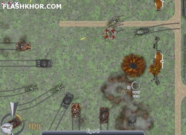 بازی آنلاین جنگ بی پایان 7 - جنگی استراتژیک فلش