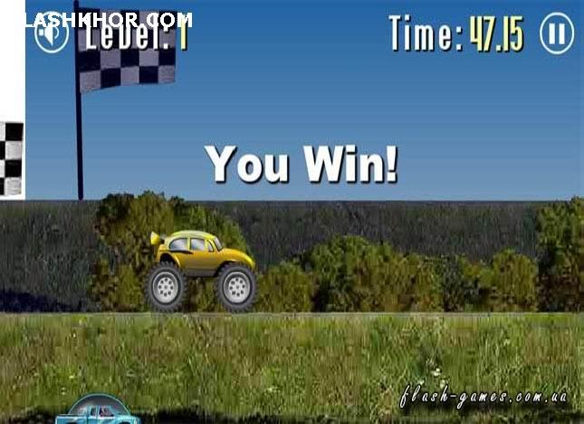 بازی آنلاین برای دیوانه  ماشین سواری 2.5- ورزشی فلش