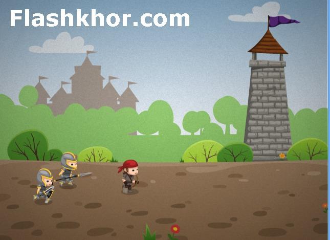 بازی آنلاین استراتژیک قیام سالوندیا - جنگی فلش