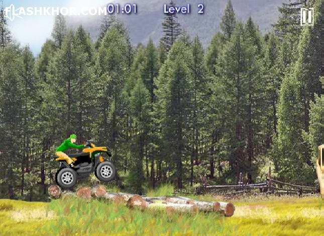 بازی آنلاین ماشین سواری شیرین کاری - ورزشی فلش