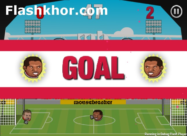 بازی آنلاین فوتبال بین کله ها نسخه فوق العاده - ورزشی فلش