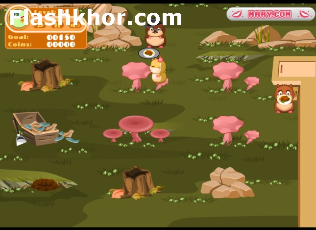 بازی آنلاین رستوران داری رستوران همستر 2 - دخترانه فلش