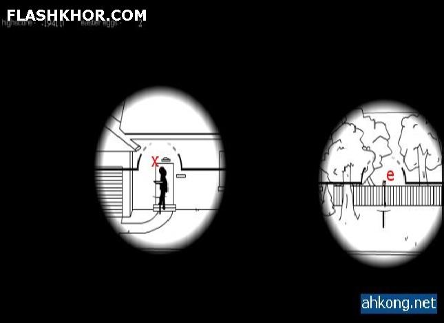 بازی آنلاین در  رتبه قاتل حرفه ای - تک تیر اندازی فلش