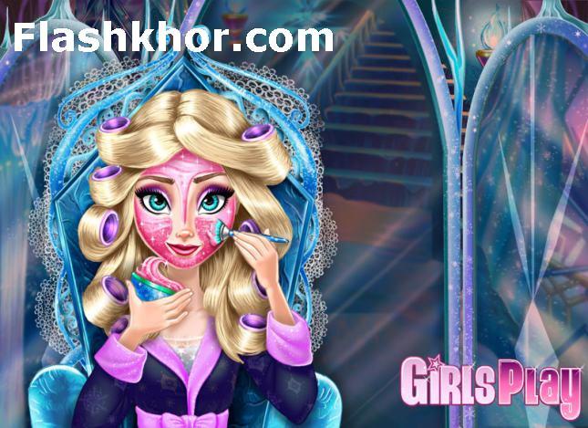 بازی آنلاین آرایش و مدل لباس السا فروزن - دخترانه فلش