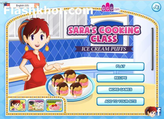 بازی آنلاین آشپزی بستنی پف دار - دخترانه فلش